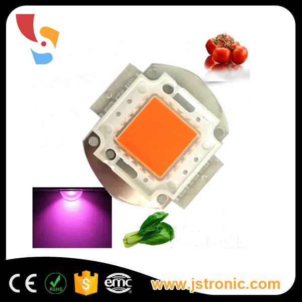 100W 400-850nm full spectrum high power led chip for led growing light