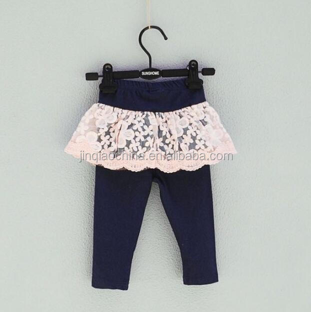Wholesale Girls Ruffle Leggings Design Sweat Pants New Fashion Trousers Baby Clothes Girl Halloween Kids Baby Ruffle Pants