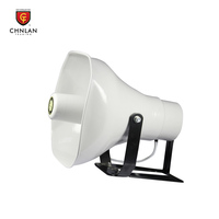 CT853 50W weatherproof public address system horn speaker aluminum for outdoor