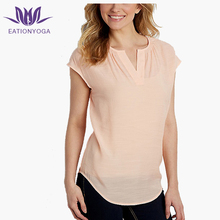 lightweight dolman sleeve blouse curved athletic workout shirts