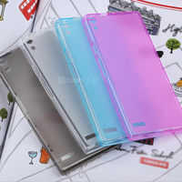 top quality pure color protective TPU case for Huawei Ascend p6 new soft TPU case for 2013