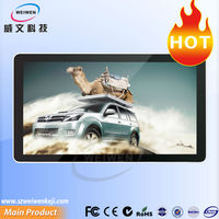 lcd monitor usb video display for advertising media player