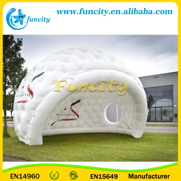 Anti-ruptured Dome Blow Up Tent / Inflatable Party Marquee Custom Inflatable