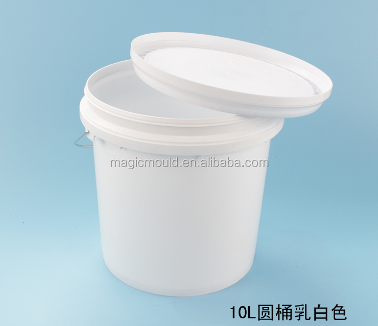 popular design plastic pail mould,taizhou china plastic mould supplier , paint/water/fishing bucket injection mould maker