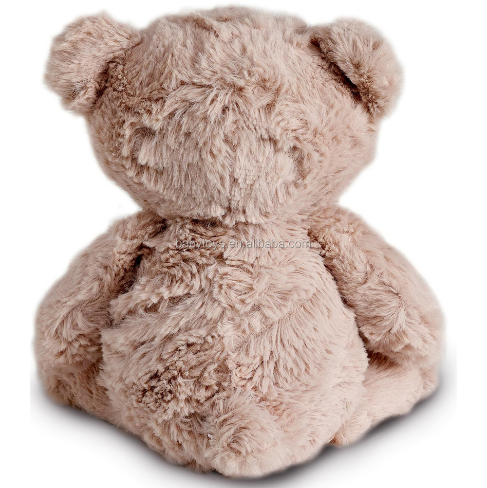 Plush brown huggable soft teddy bears with CE certificate