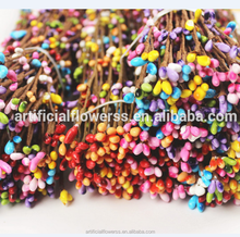 Wholesale high quality bridal wedding artificial wicker flower garland