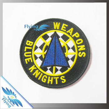 Custom embroidered iron on patches no minimum