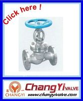 316 stainless steel flanged ball globe valve (Chiana valve)