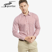 2017 latest design custom color non-ironing cotton satin stripe men shirt for business