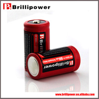 Brillipower 18350 3.7v battery Mnke 18350 rechargebale li-ion 18350 battery