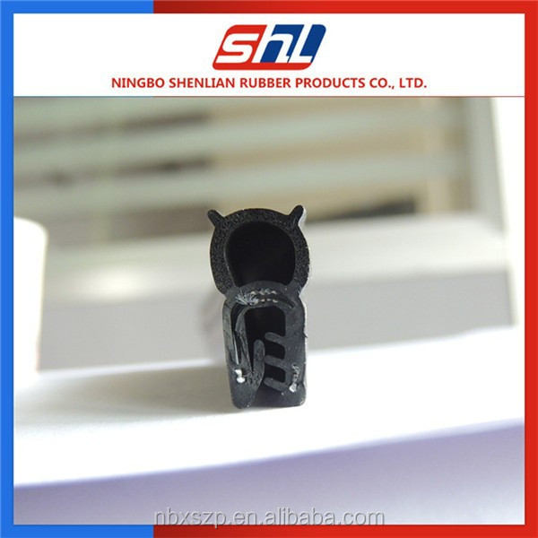 anti dust extruded Sealing Strip Style solid and foam epdm window edge trim rubber seal