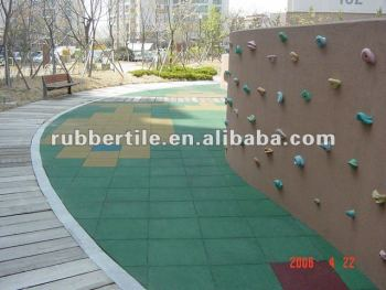 park playground rubber tiles