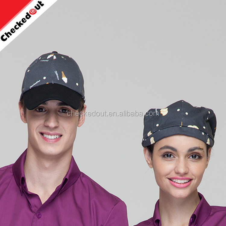 Fashion Cheaper 100% Cotton cooking caps,restaurant kitchen cooking hotel bar chef hat wholesale cap