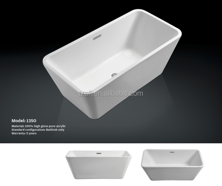 Acrylic bathtub 1350 buy acrylic bathtub bathtub for Best acrylic bathtub to buy