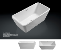 Acrylic Bathtub 1350