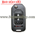 Best Quality B10-02 2+1 Button Remote Key for URG200/KD900/KD200