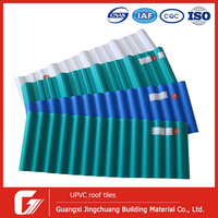 Building material plastics best roof tiles/Corrugated roofing sheets/PVC roofing material for house plans