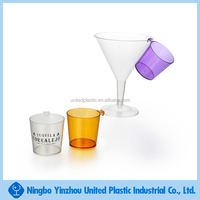 1.5 OZ Plastic Hanging Shot Glass with Hook