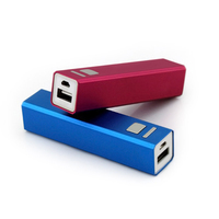 2600mAh Universal Portable Power Bank 18650 USB Charger External Battery Pack for iPhone, Blackberry, Samsung ect