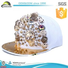 2013 Fashion Newest Sequin Rivet Custom Snapback Hats