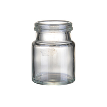 100ml small pudding bottles Milk bottle liquid glass jar with plastic lid