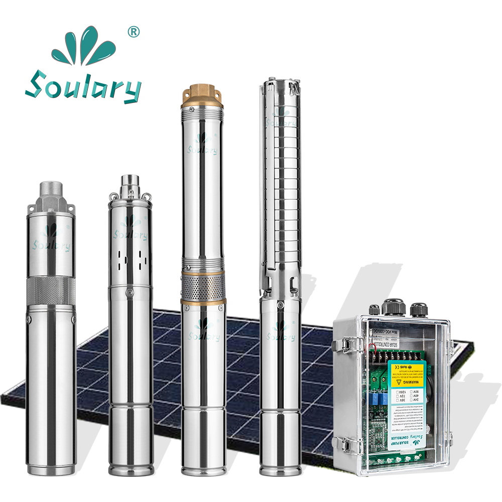 All 3inches high quality DC helical rotor solar pumps for irrigation