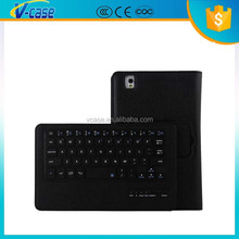 Flip Stand Leather Bluetooth Keyboard Case for Samsung Galaxy Tab Pro 8.4