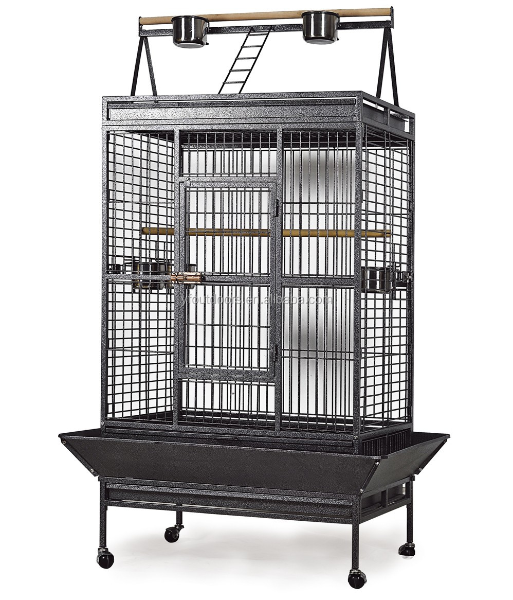Top selling african grey big parrot cage for sale