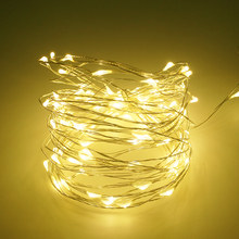 High quality lead free best mini hanging led copper wire outdoor decorative string lights