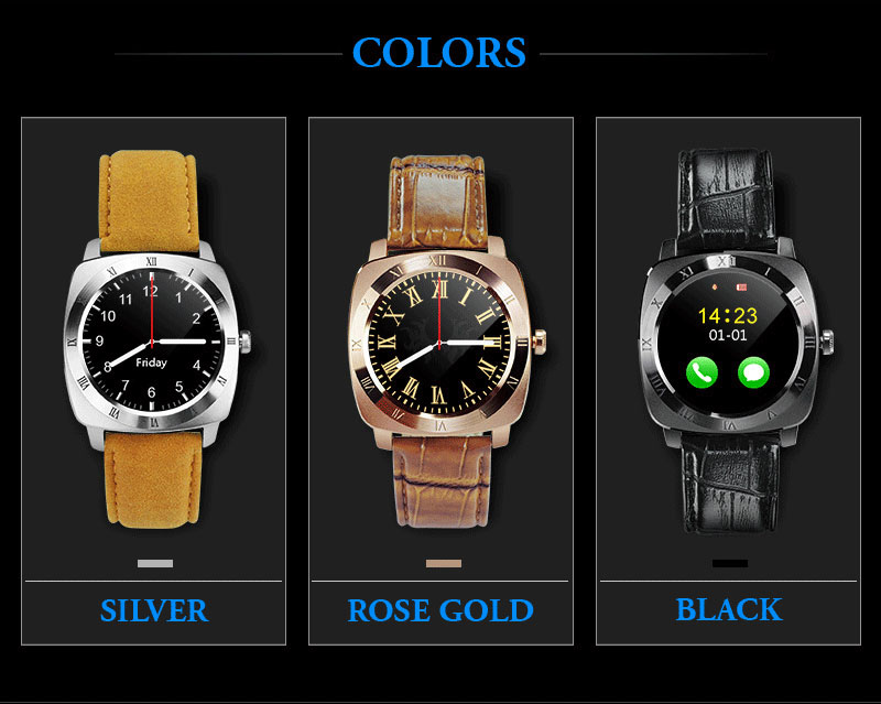 2016 most popular 2G <strong>gsm</strong> & BT Sports smartwatch phone X3 model