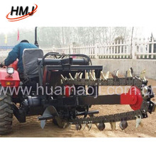 Customized professional double chain trench digger With Stable Function