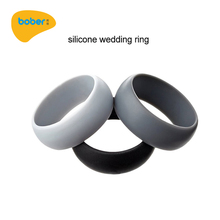 Hot Selling Fashion Design Silicone Wedding Finger Ring For Women