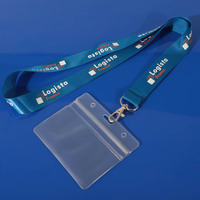 Promotional student lanyard holder /custom lanyard /id card holder with string