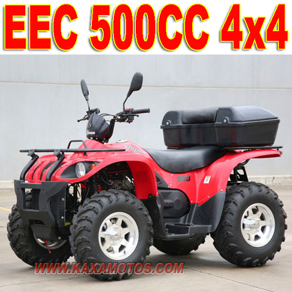 500cc 4 Wheeler ATV for Adults