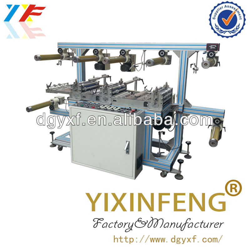 Roll To Roll Copper Foil Lining Machine