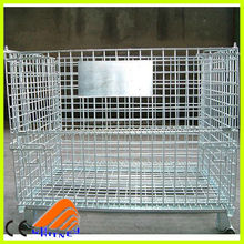 pallet liquid container, wheeled metal wire basket, mesh butterfly cage