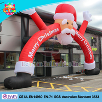 Large Merry Christmas Arch/ Christmas inflatable archway