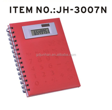 Multifunctional Calculator With notebook