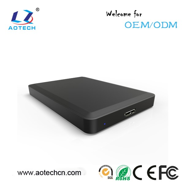 factory plastic usb 3.0 to 2.5 sata hdd enclosure