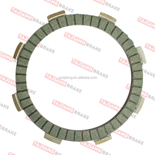 Copper base motorcycle clutch plate CG125 clutch disc the best quality in the world.