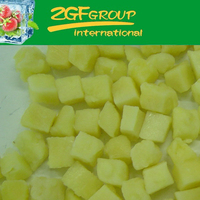 frozen fresh iqf pineapple slices