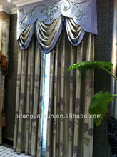 The hotsale fahion lovely desing home textile whole home curtains