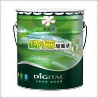Digital color pure emulsion scrub resistant interior wall paint