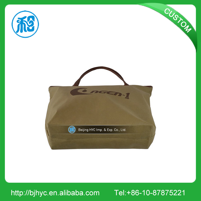 Wholesale recycled materials customized printing non woven tote bag