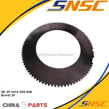 transmission part 4474304048 outside clutch disc for liugong machine,clutch plate, friction plate