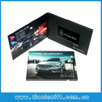Car Advertising video Card for Promotion
