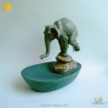Wholesale Resin Craft Decor Elephant Chinese Indoor Garden Water Fountain for Sale