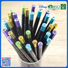 2016 Wholesale customized slap-up black HB pencil with metal cap for gift