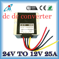 24Vdc step down to 12Vdc 25A 300Wat IP65 dc dc converter dc24v to dc12v converter