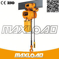 China Safety Equipments For Construction Stage Used Electric Chain Hoist